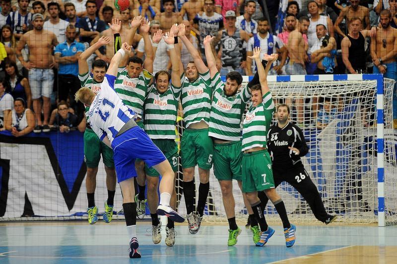 Sporting disputa pré-eliminatória da Champions de andebol, FC Porto na Taça EHF