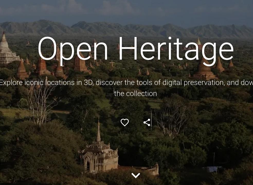 Projeto Open Heritage da Google apresenta 30 novos locais para visitar virtualmente