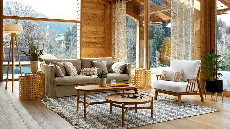 Tenha uma casa mais ecológica. Propostas decorativas que privilegiam materiais naturais