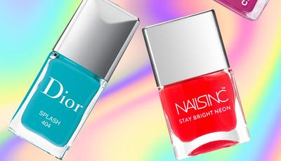 8 vernizes néon que trazem a tendência de Verão para a manicure