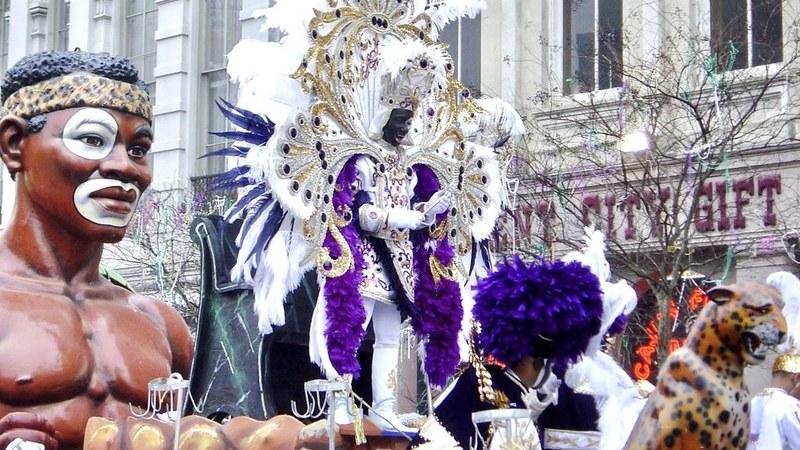 """Happy Mardi Gras"". O louco e caótico carnaval de New Orleans"