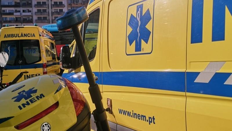 Novas ambulâncias do INEM ficam às escuras após avaria