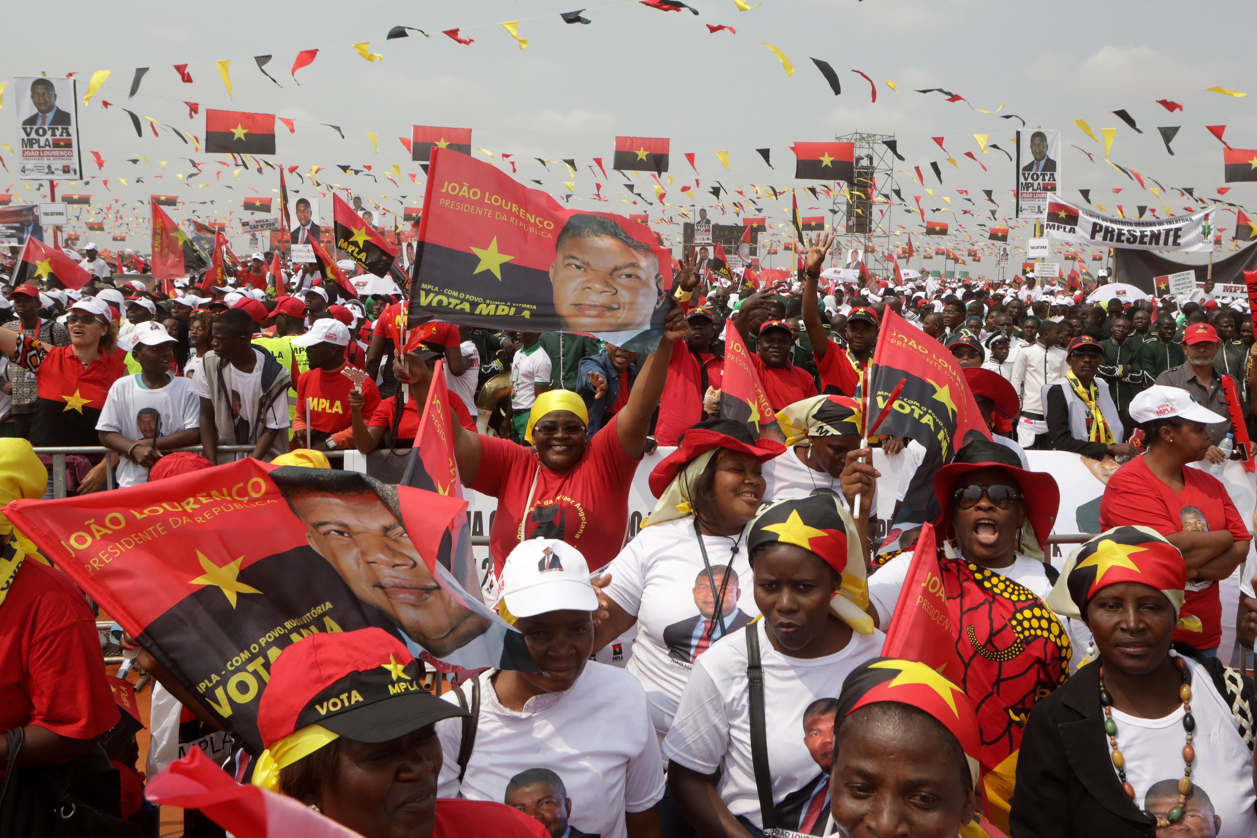 Comunicação social favoreceu MPLA na campanha eleitoral, diz Sindicato dos Jornalistas Angolanos