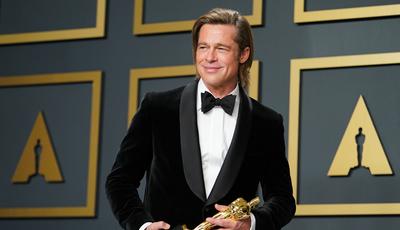 """""""Está na hora de desaparecer por um bocado e voltar a fazer coisas"""", diz Brad Pitt depois de receber Óscar"""