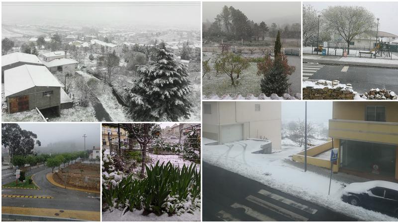 Da minha janela eu vejo... neve. Queremos ver as vossas vistas - parte VIII