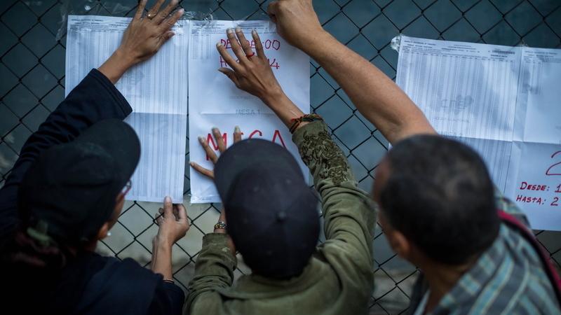 EUA consideram eleições na Venezuela irregulares