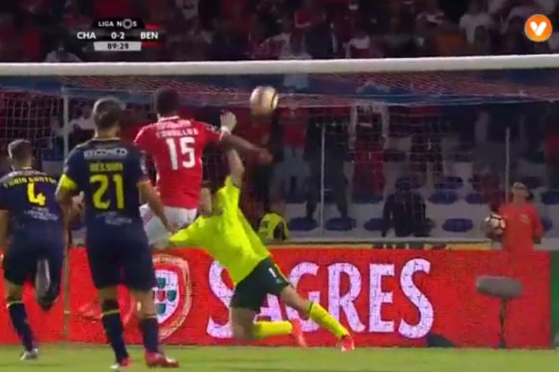 António Filipe impediu golo de Carrillo e fez a defesa da jornada
