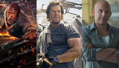"""Do """"The Rock"""" a Wahlberg e Diesel: os heróis americanos da ação pura e dura"""