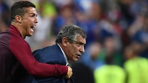 Seleção: Ronaldo é a grande dúvida na lista de Fernando Santos