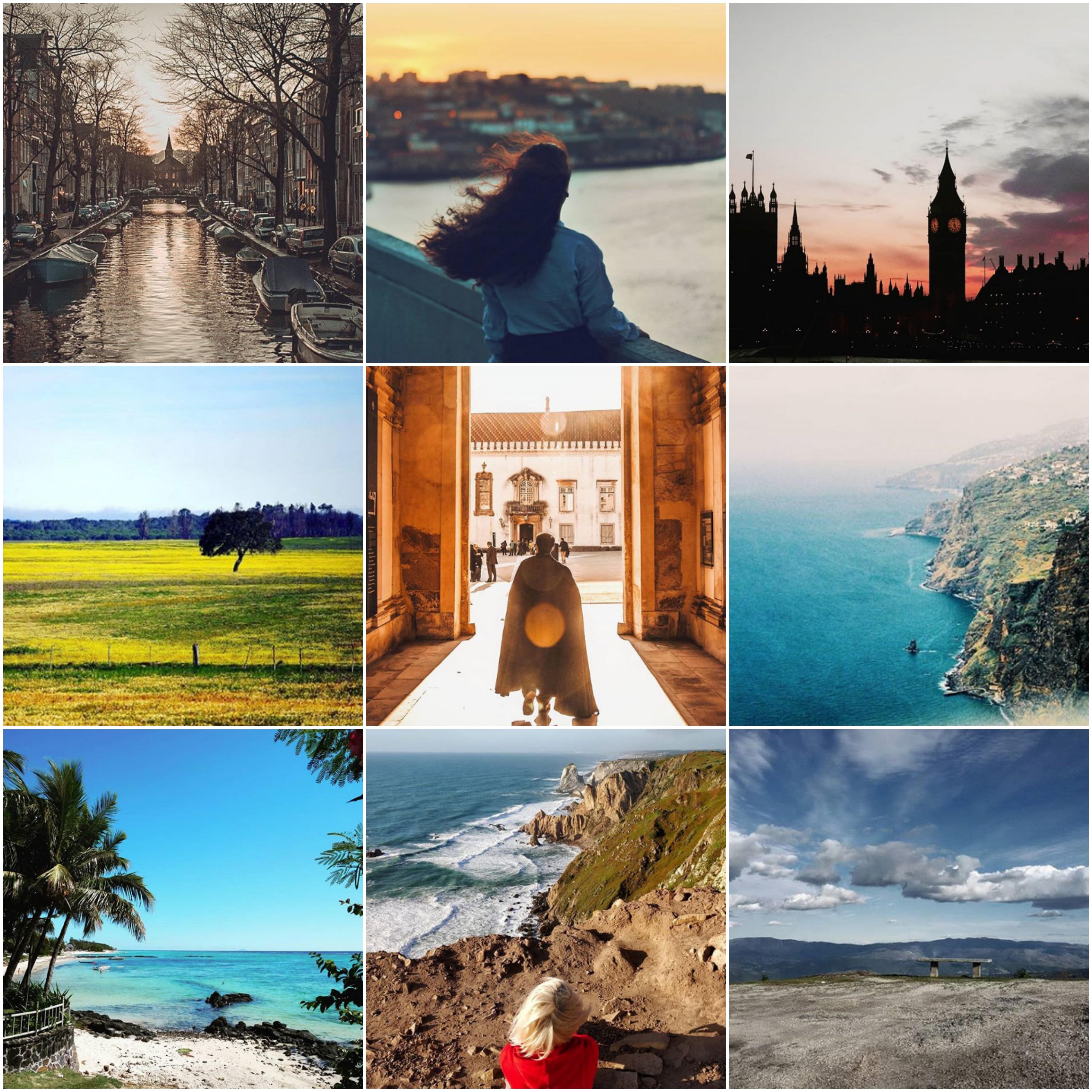 Viagens de Instagram: Cabelos ao vento em busca da próxima aventura