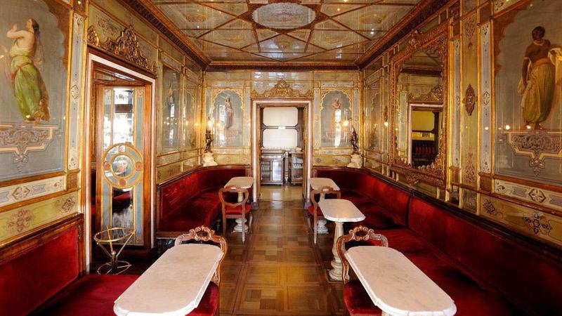 Caffè Florian: O café mais antigo da Europa celebra 300 anos em 2020