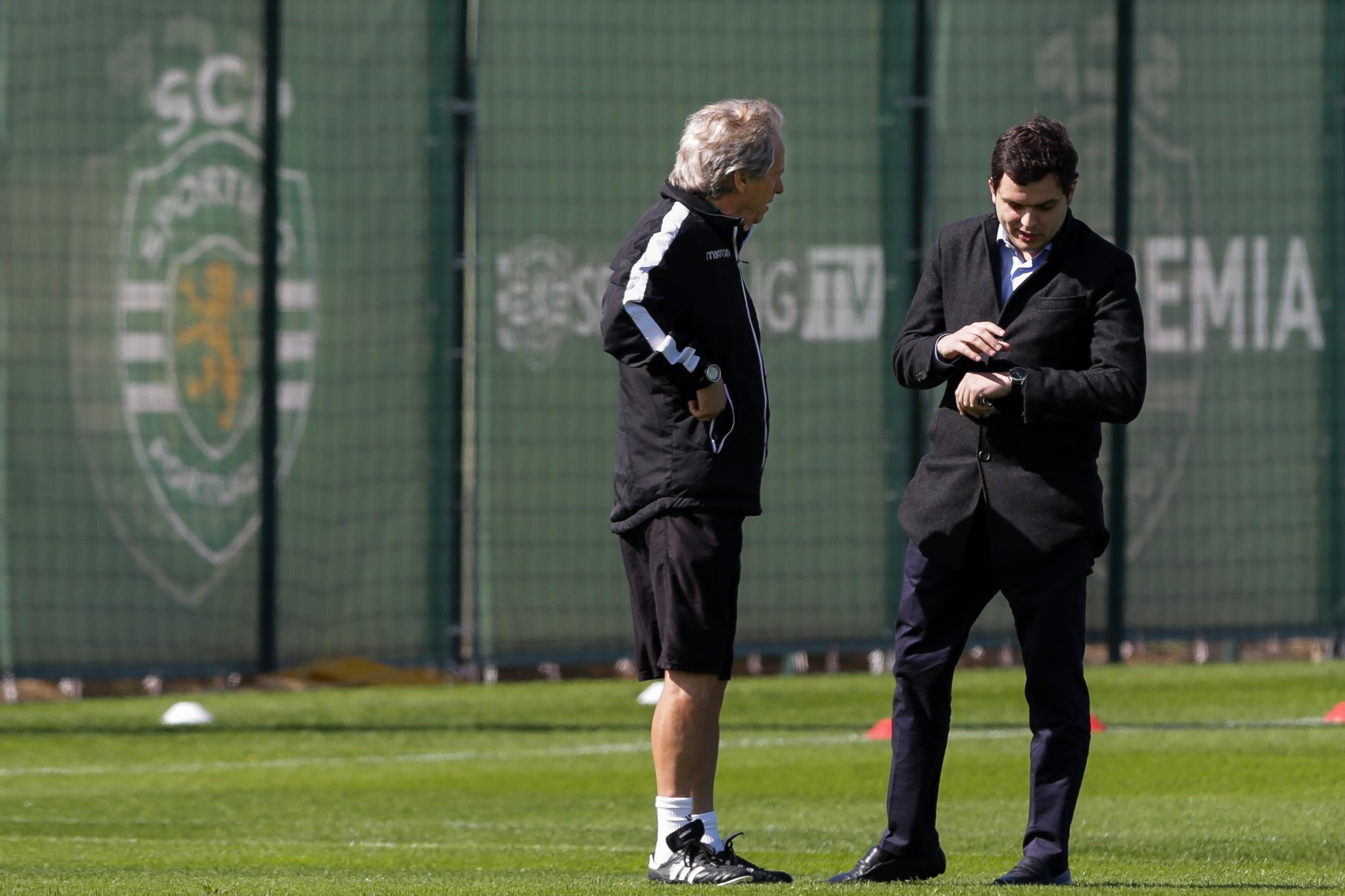 Diretor do futebol do Sporting suspenso por 10 dias