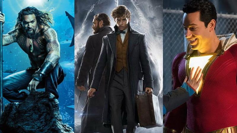 """De """"Aquaman"""" a """"Monstros Fantásticos"""" e """"Shazam!"""": os trailers revelados na Comic-Con"""