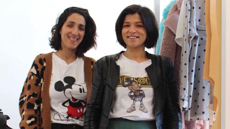 O gosto pela moda e formação levou duas irmãs a abrir um negócio próprio. Hoje têm duas academias de costura